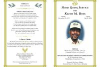 Free Obituary Program Template Download  Template Business for Free Obituary Template For Microsoft Word