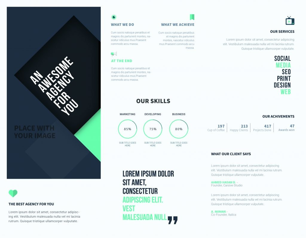 Free Online Brochure Templates To Create Your Own Brochure For Online Brochure Template Free