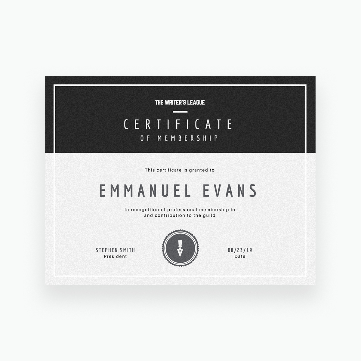 Free Online Certificate Maker Create Custom Designs Online  Canva Pertaining To Guinness World Record Certificate Template