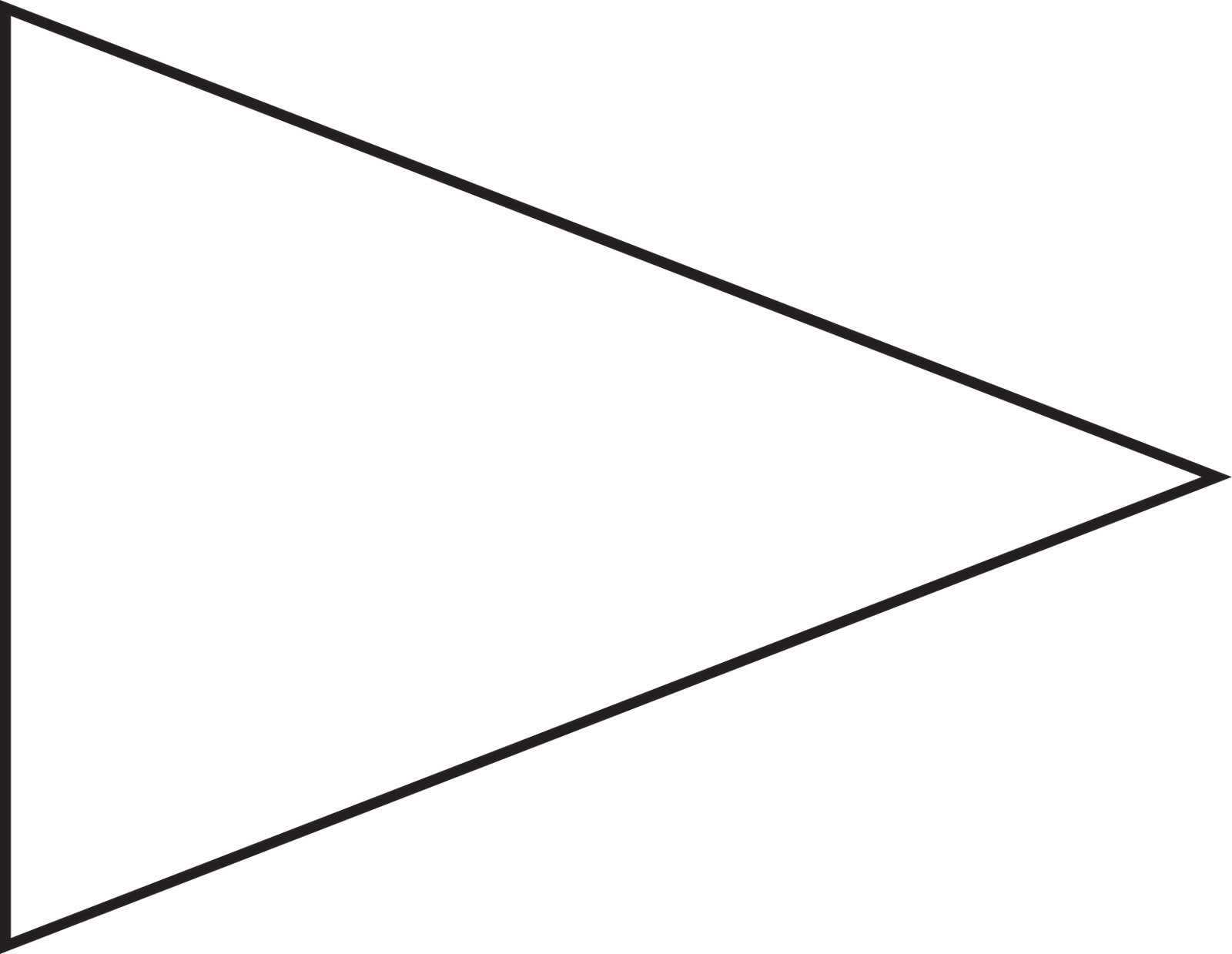 Free Pennant Banner Template Download Free Clip Art Free Clip Art In Free Triangle Banner Template