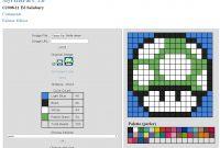 Free Perler Bead Pattern Makers  Hative regarding Blank Perler Bead Template