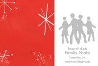 Free Photo Christmas Card Template  Karen Cookie Jar pertaining to Blank Christmas Card Templates Free