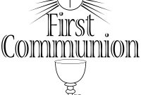 Free Photo Holy Communion Clipart  Religion Religious Wine with regard to First Holy Communion Banner Templates