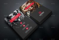 Free Photography Business Card Templates  Business Card Sample for Photoshop Name Card Template