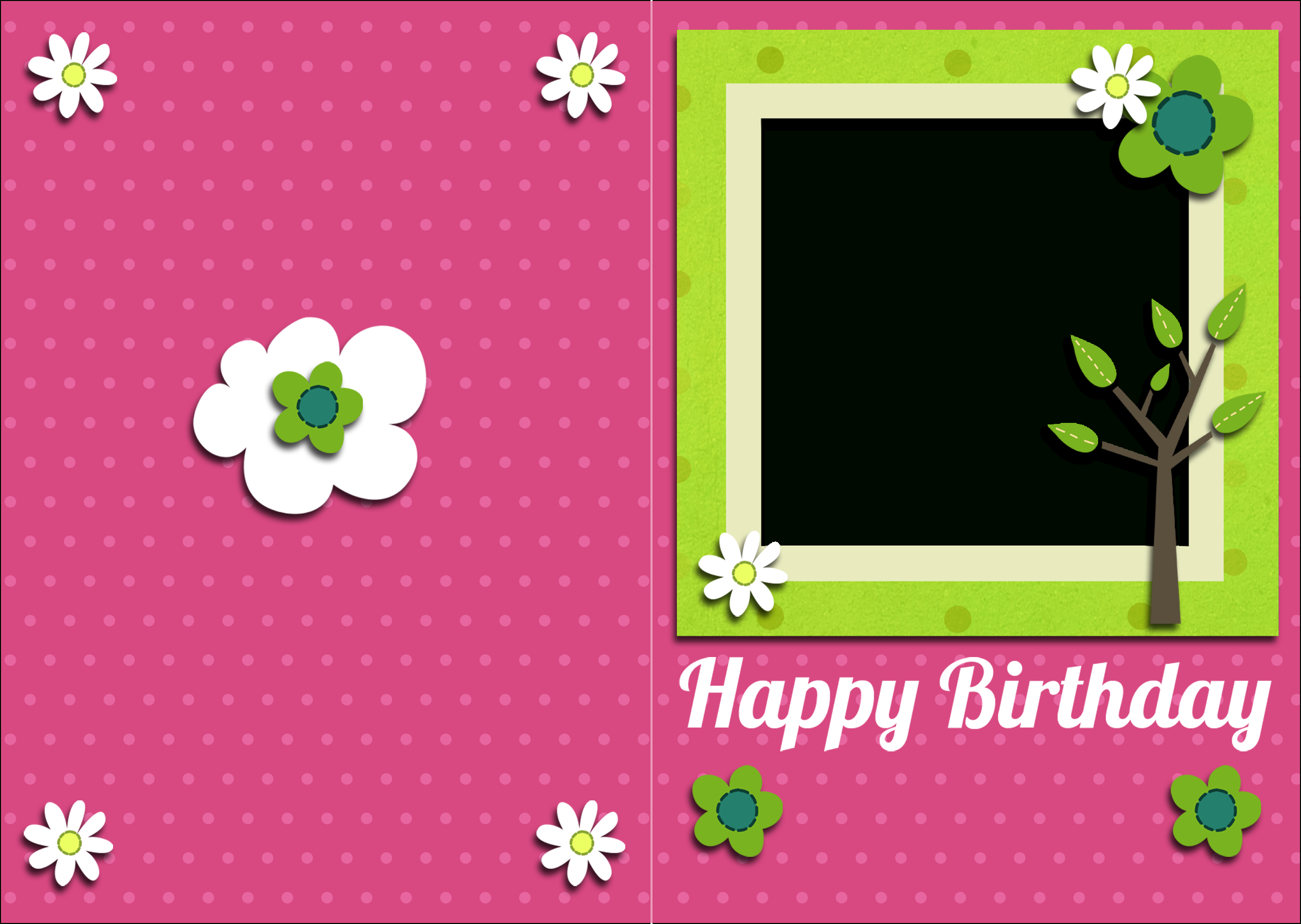 Free Pictures To Print Free  Free Printable Birthday Card And Gift Pertaining To Template For Cards To Print Free