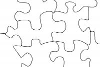 Free  Piece Jigsaw Puzzle Template Download Free Clip Art Free pertaining to Jigsaw Puzzle Template For Word