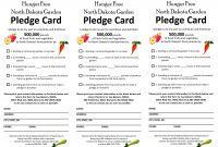 Free Pledge Card Template  Charlotte Clergy Coalition with regard to Building Fund Pledge Card Template