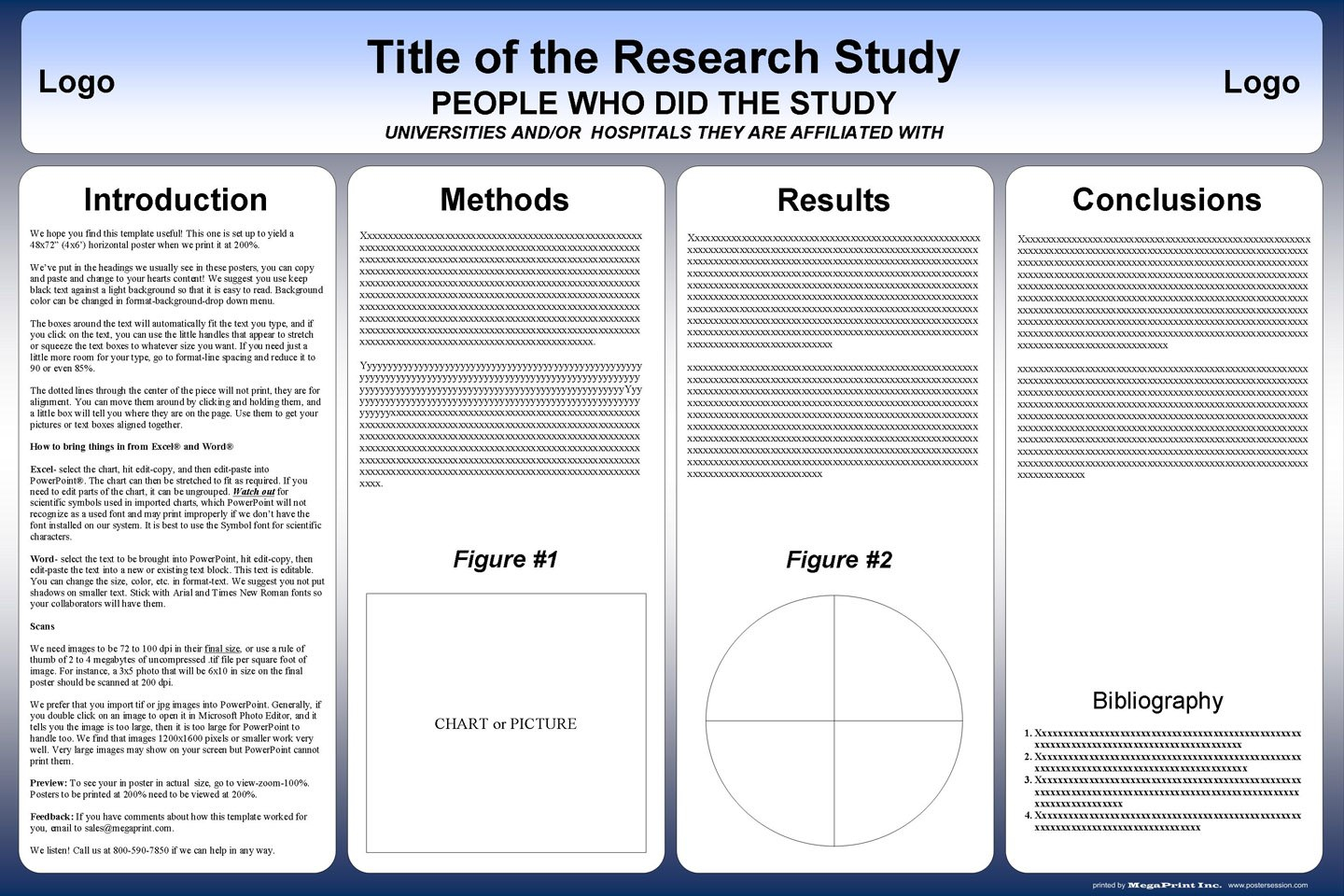 Free Powerpoint Scientific Research Poster Templates For Printing Inside Powerpoint Poster Template A0