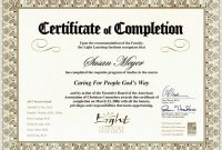 Free Premarital Counseling Certificate Of Completion Template Pretty with Premarital Counseling Certificate Of Completion Template