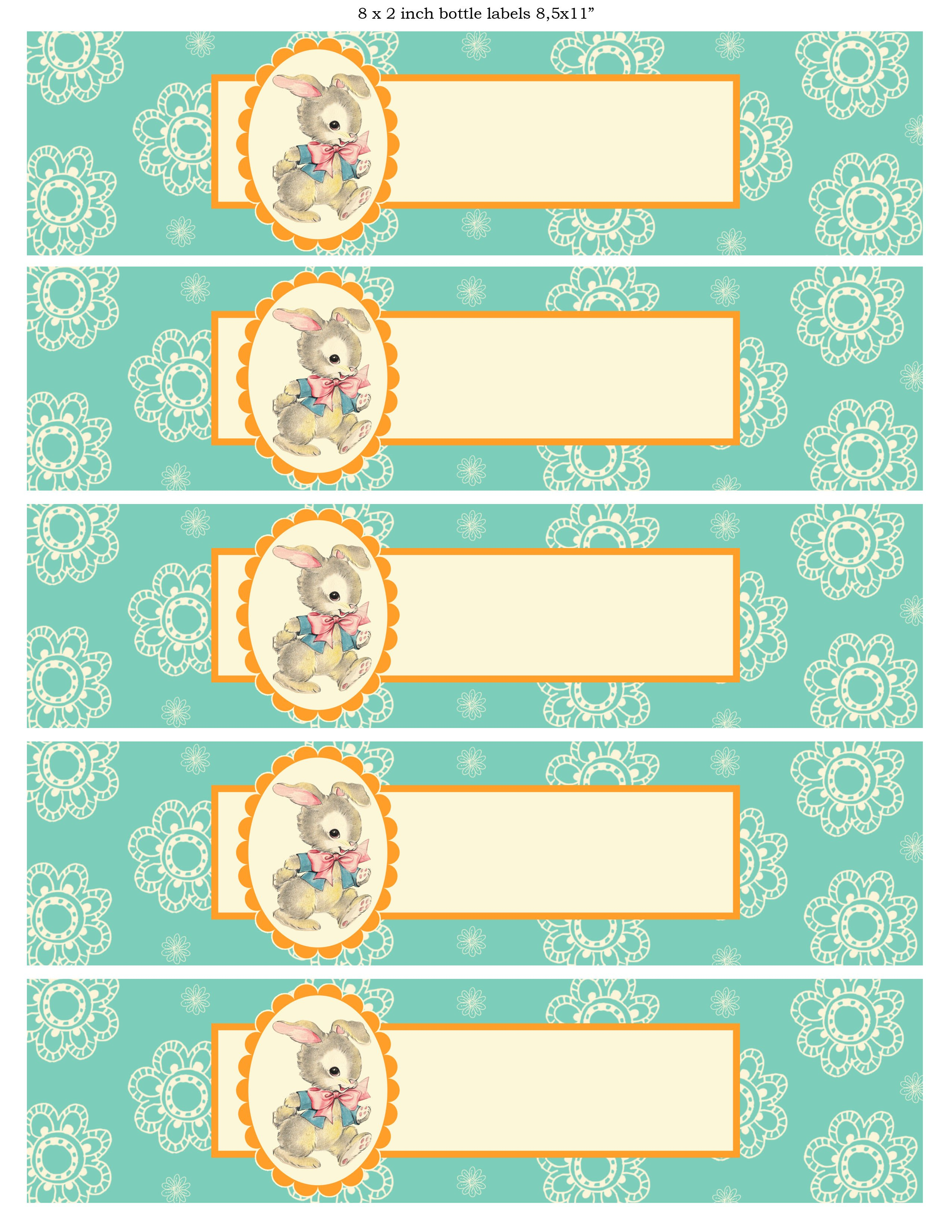 Free Printable Baby Shower Templates With Baby Shower Bottle Labels Template