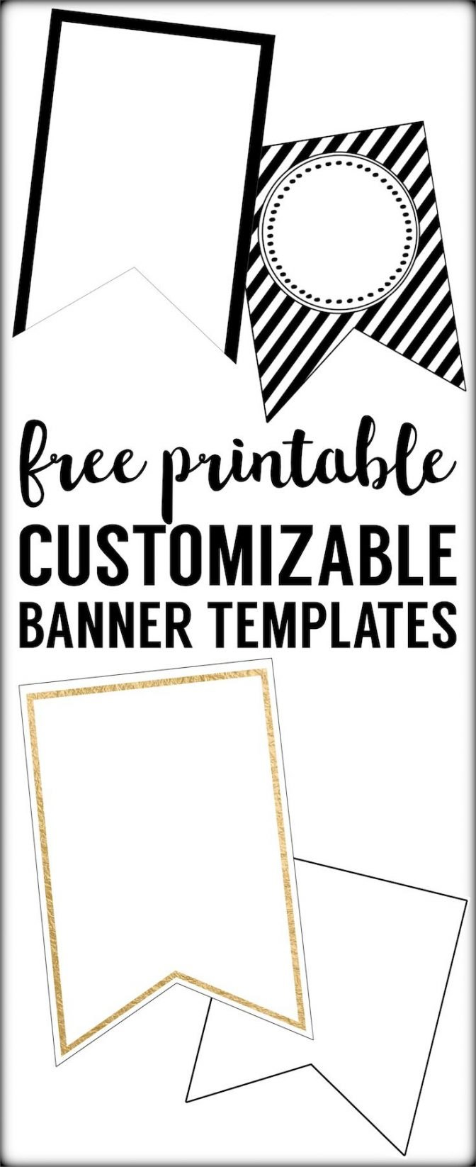 Free Printable Banner Templates Blank Banners Web Download For Free Blank Banner Templates