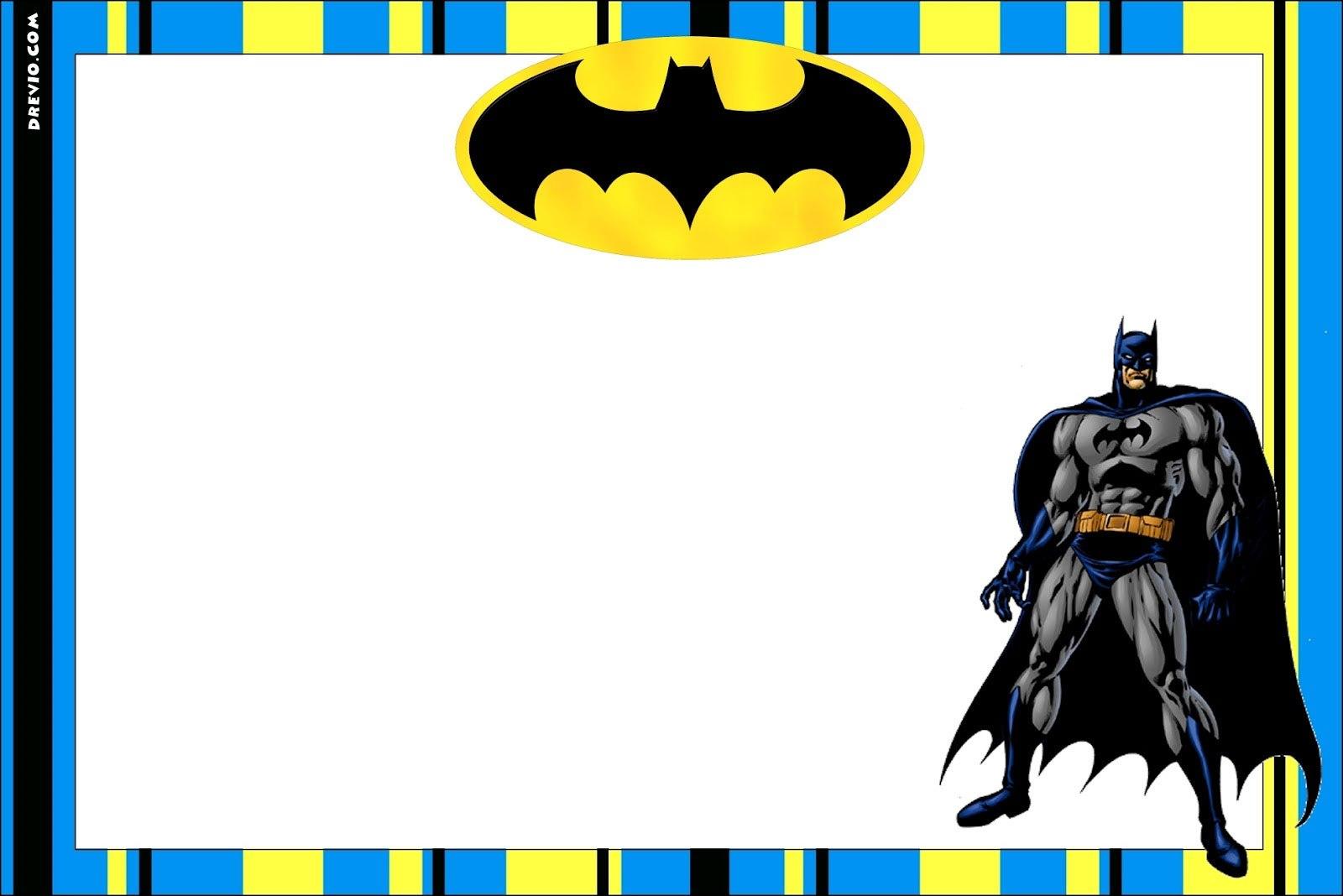 Free Printable Batman Forever Invitation Template  Free Invitation Throughout Batman Birthday Card Template