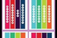 """Free Printable """" Binder Spine Labels For Basic School Subjects in Binder Spine Template Word"""
