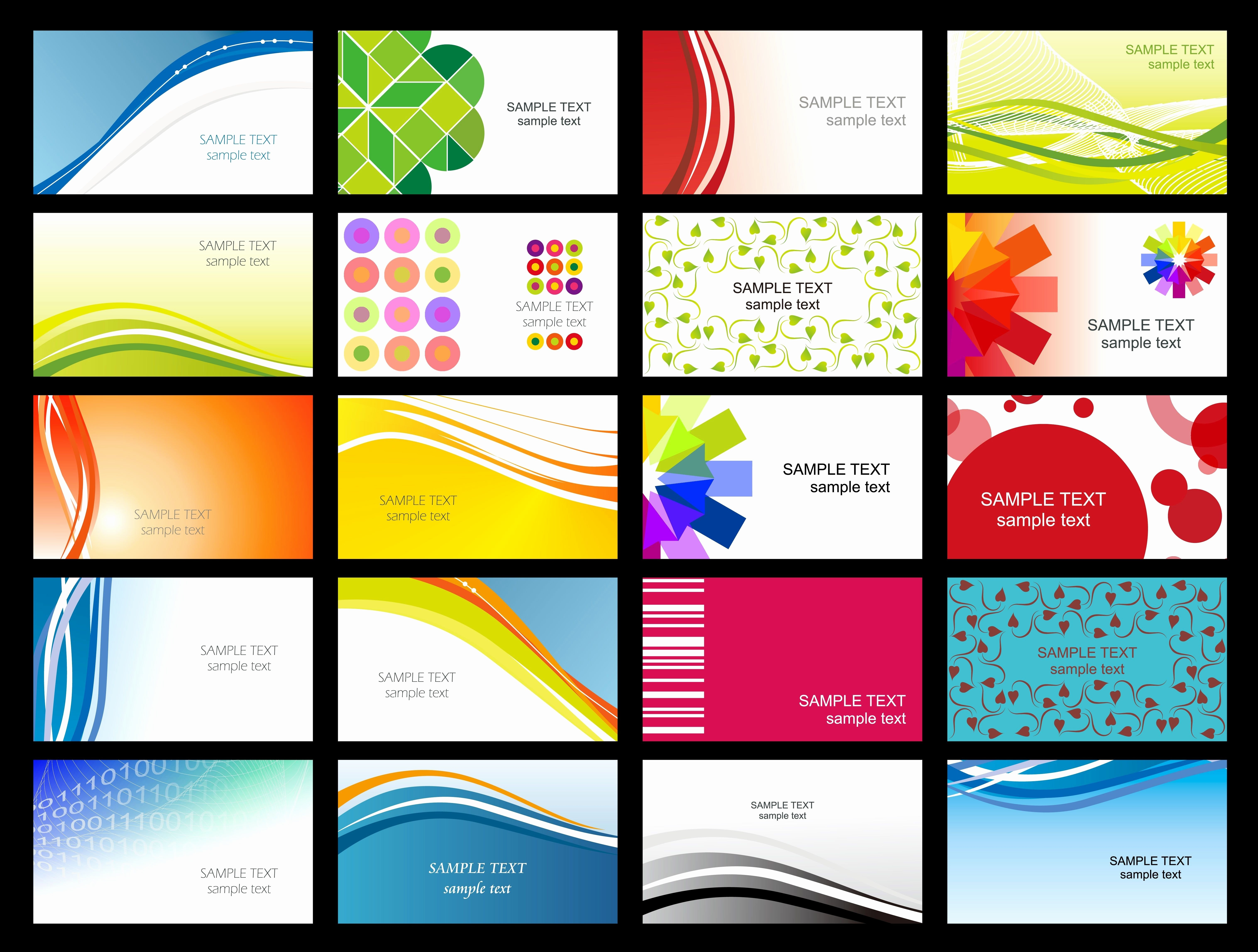 Free Printable Business Cards Templates Elegant   Free Business With Regard To Free Template Business Cards To Print