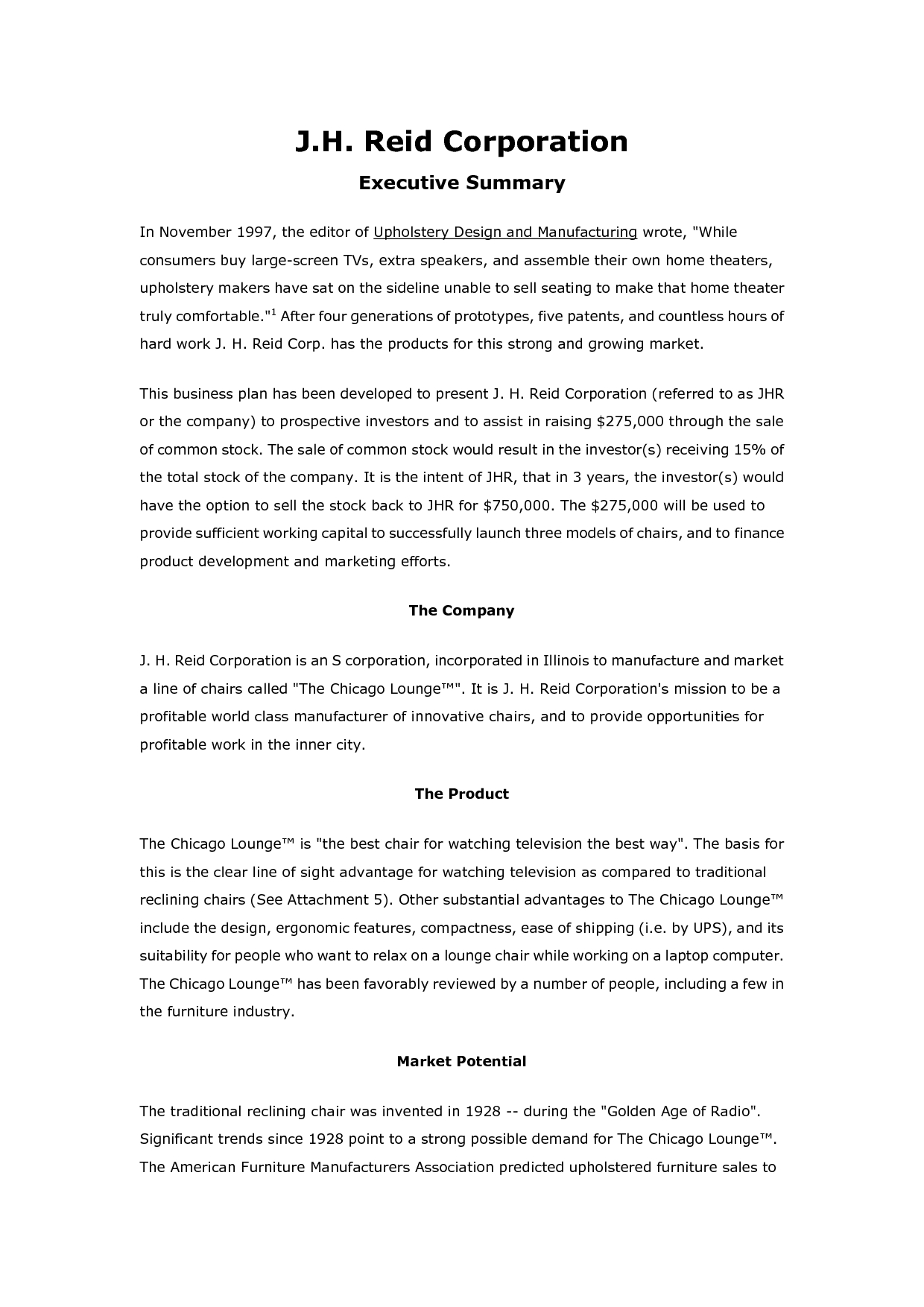 Free Printable Business Plan Sample Form Generic In Business Plan Template For Website