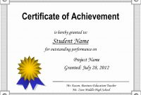 Free Printable Certificate Template Inspirational Printable in Free Printable Certificate Of Achievement Template