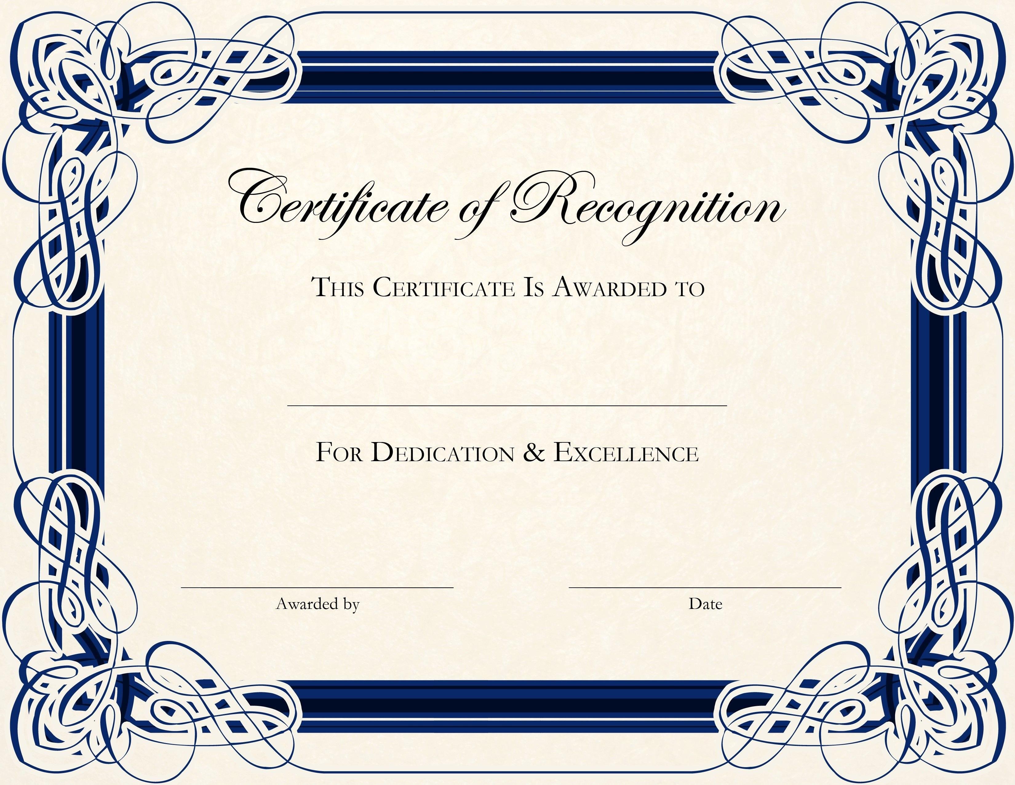 Free Printable Certificate Templates For Teachers  Besttemplate With Regard To Best Teacher Certificate Templates Free