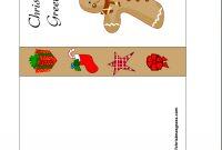 Free Printable Christmas Cards  Free Printable Christmas Card With intended for Printable Holiday Card Templates