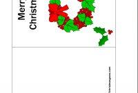 Free Printable Christmas Cards  Free Printable Christmas Greeting pertaining to Printable Holiday Card Templates