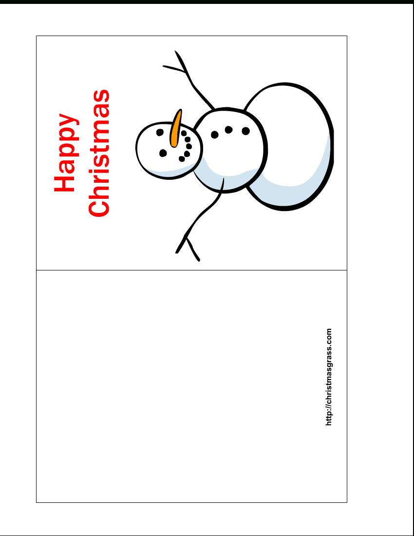 Free Printable Christmas Cards  Free Printable Happy Christmas Card With Printable Holiday Card Templates