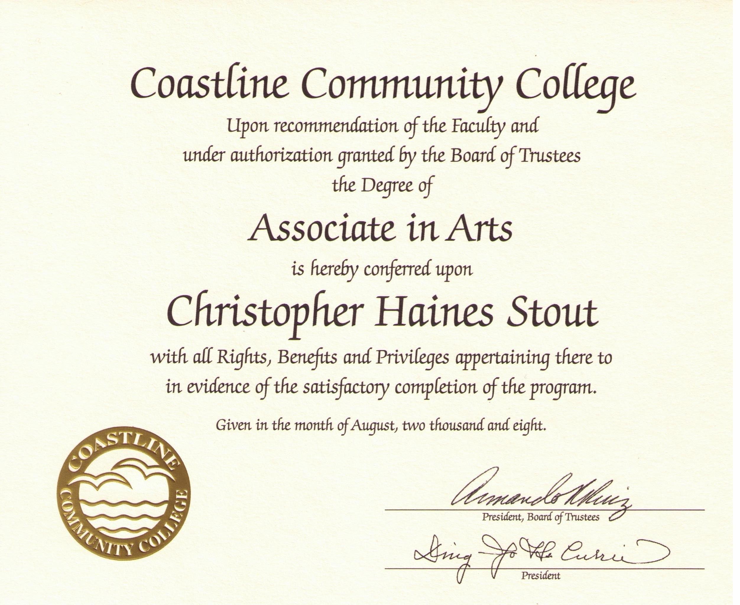 Free Printable College Diploma  Free Diploma Templates  In Regarding University Graduation Certificate Template