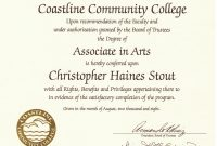 Free Printable College Diploma  Free Diploma Templates  In with Free School Certificate Templates
