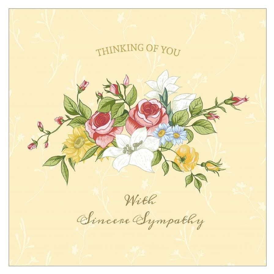Free Printable Condolence And Sympathy Cards Regarding Sorry For Your Loss Card Template