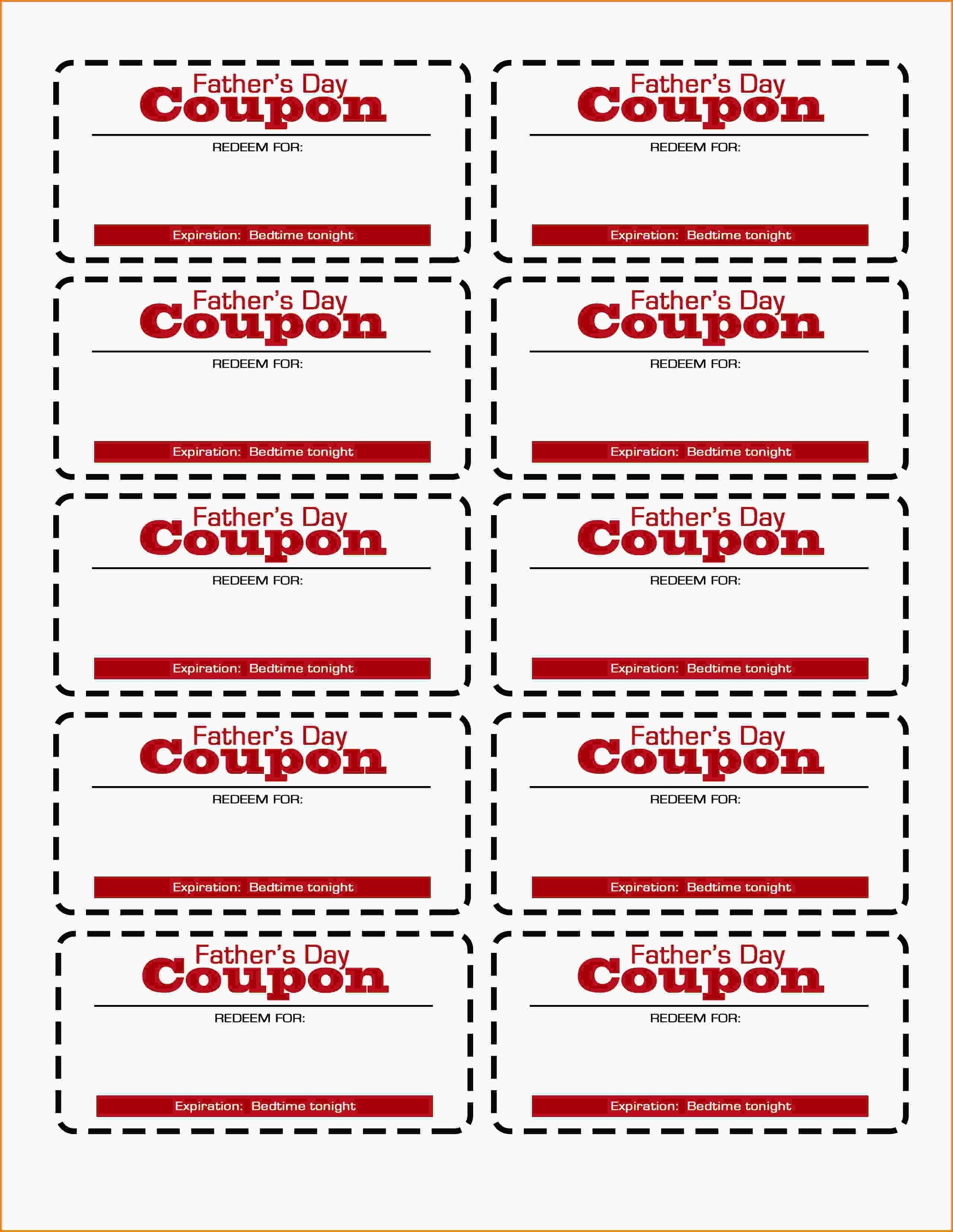 Free Printable Coupon Templates Template Ideas Surprising Intended For Blank Coupon Template Printable