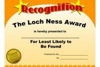 Free Printable Funny Employee Award Certificates  Toha inside Free Printable Funny Certificate Templates