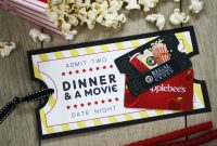 Free Printable Give Date Night For A Wedding Gift  Gcg with regard to Movie Gift Certificate Template