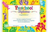 Free Printable Graduation Certificate Templates  Mandegar for Free Printable Graduation Certificate Templates