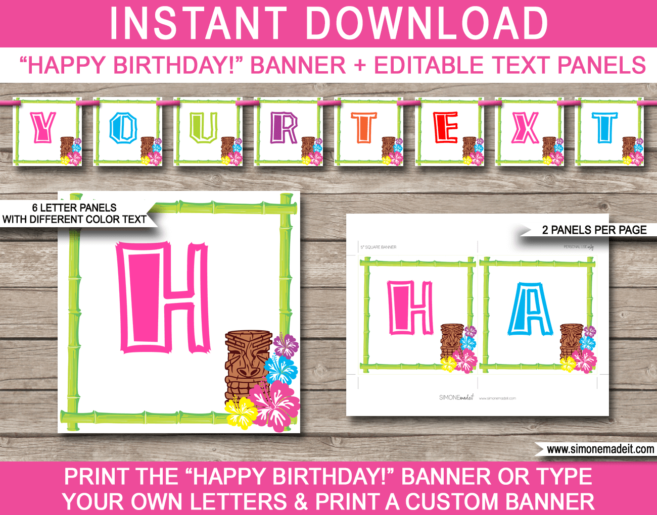 Free Printable Happy Birthday Banner Templates  Images In Intended For Free Happy Birthday Banner Templates Download