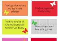 Free Printable Kindness Cards  Random Love  Kindness Activities for Random Acts Of Kindness Cards Templates