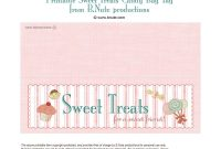 Free Printable Lables  Bnute Productions Free Printable Sweet throughout Goodie Bag Label Template