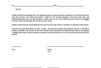 Free Printable Letter Of Agreement Form Generic throughout Promise To Sell Agreement Template