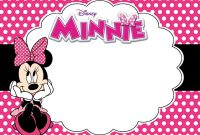Free Printable Minnie Mouse Birthday Party Invitation Card  Coolest with regard to Minnie Mouse Card Templates