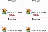 Free Printable Photo Thank You Card Templates Luxury  Best Of with Printable Holiday Card Templates