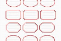 Free Printable Shipping Label Template Pretty Free Printable Label regarding Pretty Label Templates