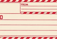 Free Printable Shipping Label Template Vintage Clip Art Old for Mailing Label Template Free