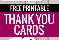 Free Printable Thank You Cards  Freebies  Printable Thank You with Free Printable Thank You Card Template
