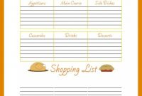 Free Printable Thanksgiving Menu Planner  Free Printables in Thanksgiving Menu Template Printable