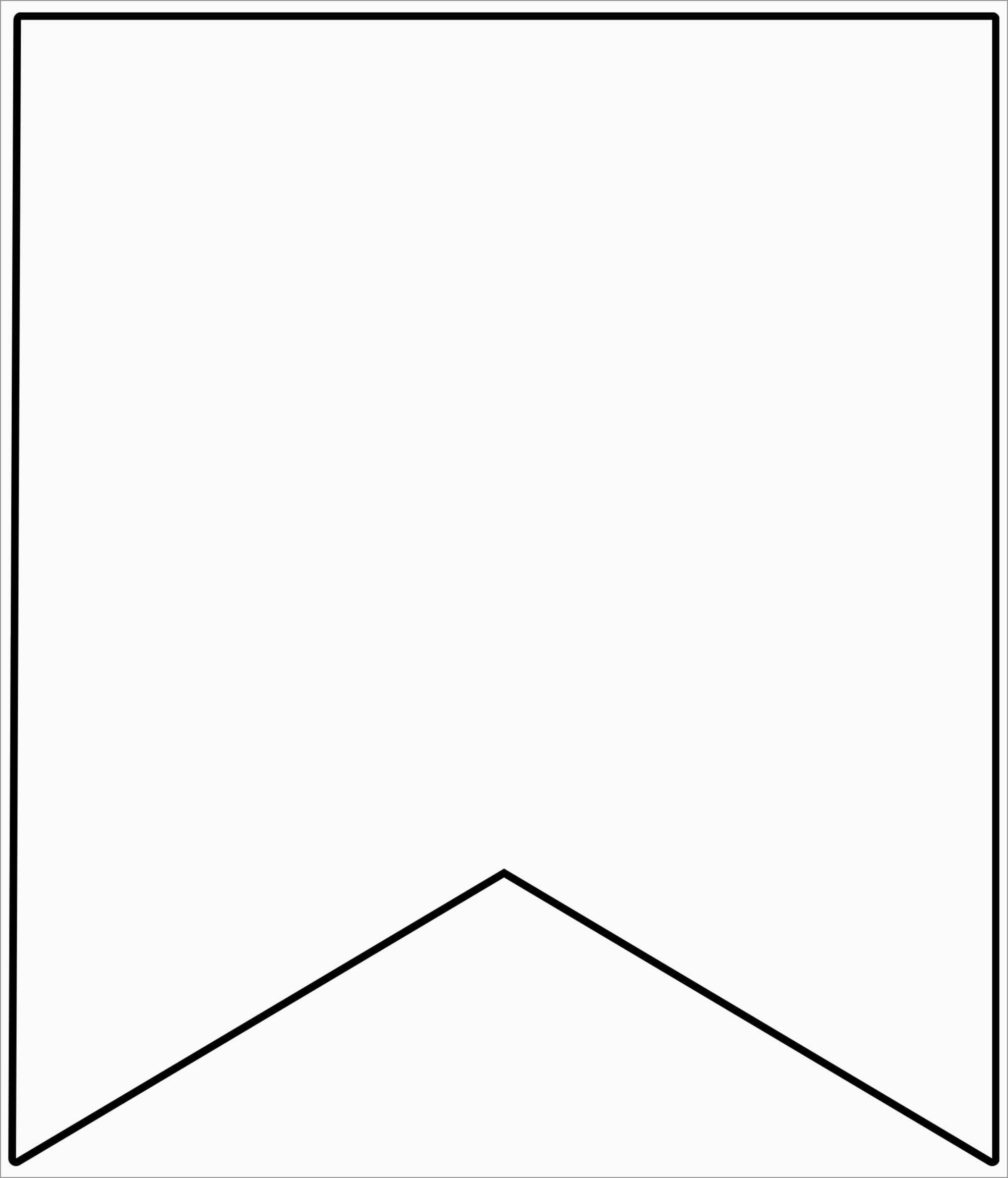 Free Printable Triangle Banner Template Wonderfully Best Images With Triangle Banner Template Free