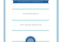 Free Printable Volunteer Appreciation Certificates  Signup pertaining to Volunteer Award Certificate Template