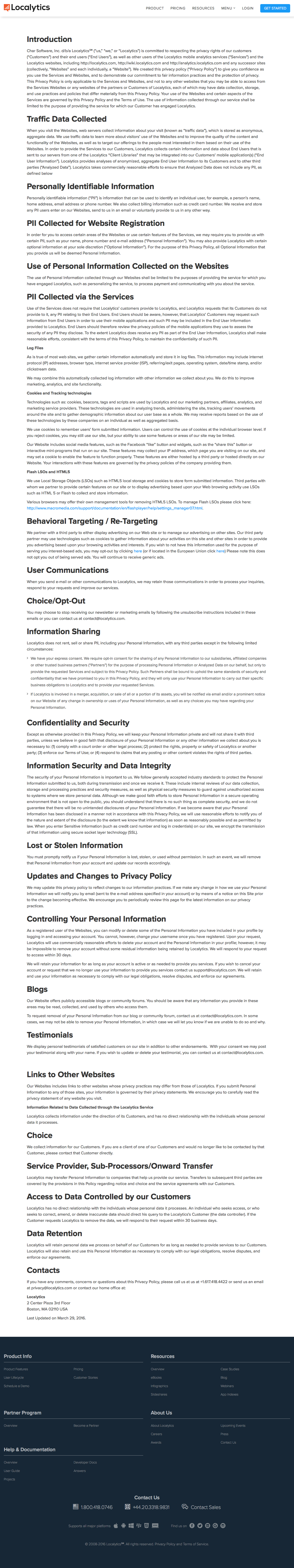 Free Privacy Policy Template Generator Throughout Customer Data Privacy Policy Template