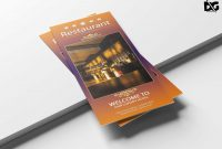 Free Psd Hotel Trifold Brochure Template  Free Psd Mockup intended for Hotel Brochure Design Templates