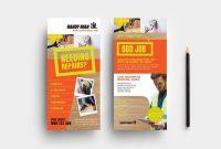 Free Rack Card Template Ideas Handyman Dl Sensational Photoshop regarding Free Rack Card Template Word