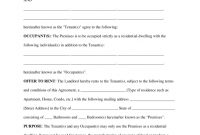 Free Rental Lease Agreement Templates  Residential  Commercial throughout Business Lease Agreement Template Free
