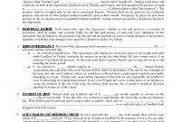 Free Residential Lease Agreement Template Ideas Forms To Print with regard to Business Lease Agreement Template Free