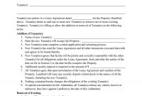 Free Roommate Agreement Templates  Forms Word Pdf with regard to Free Roommate Lease Agreement Template
