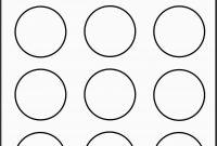 Free Round Sticker Label Template Lovely Best Free Printable Round for 2 Inch Round Label Template